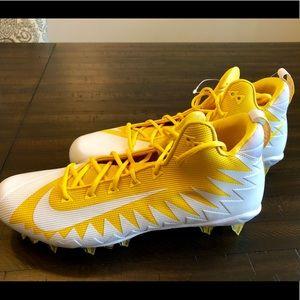 Nike Football Alpha Menace Pro Cleats Shoes Yellow